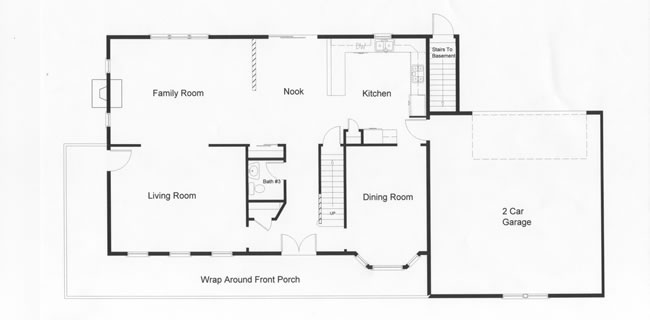 4 bedroom floor plans monmouth county ocean county new jersey rba homes - Bedroom house plans with basement decoration ...