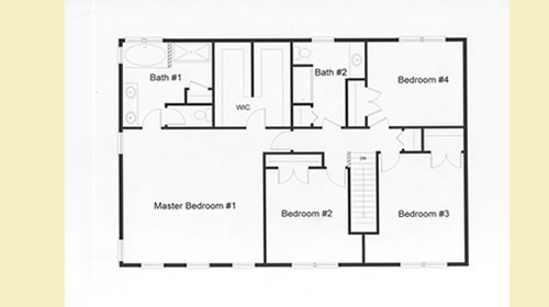 2 Story Colonial Floor Plans Monmouth County Ocean County