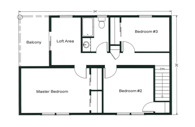 Floor Plan The Heron Nd Floor