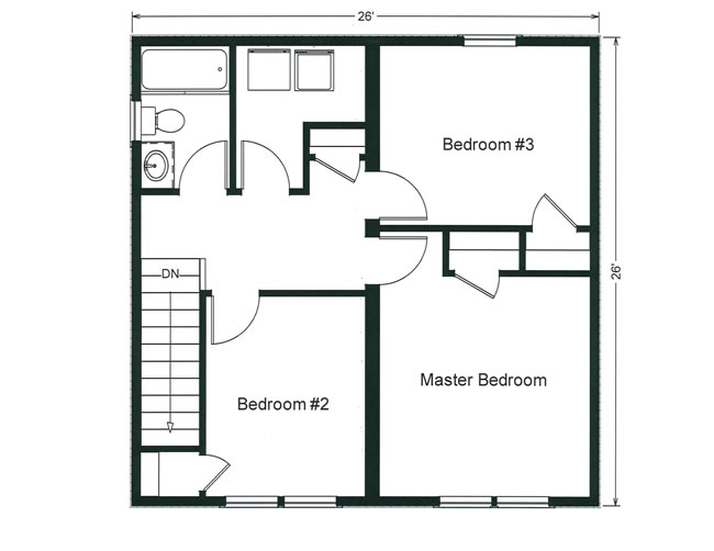 Coastal design collection floor plans monmouth county for Floor 2nd