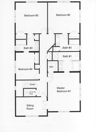 4 Bedroom Floor Plans Monmouth County Ocean County New Jersey Rba Homes