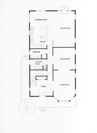 2 Story Narrow Lot Floor Plans Monmouth County Ocean