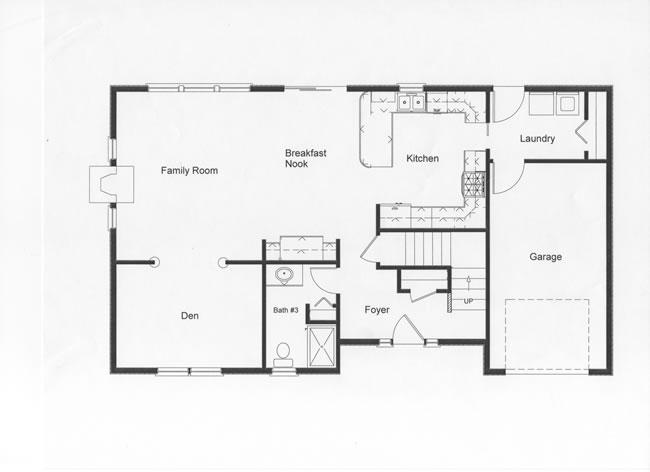 4 bedroom floor plans monmouth county ocean county new for One bedroom open floor plans