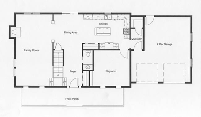 2 story colonial floor plans monmouth county ocean county for Modular homes with basement floor plans